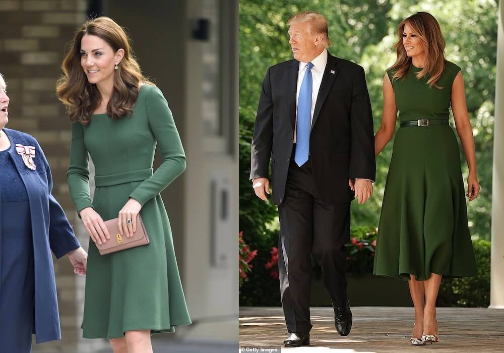 abiti Emilia Wickstead kate melania