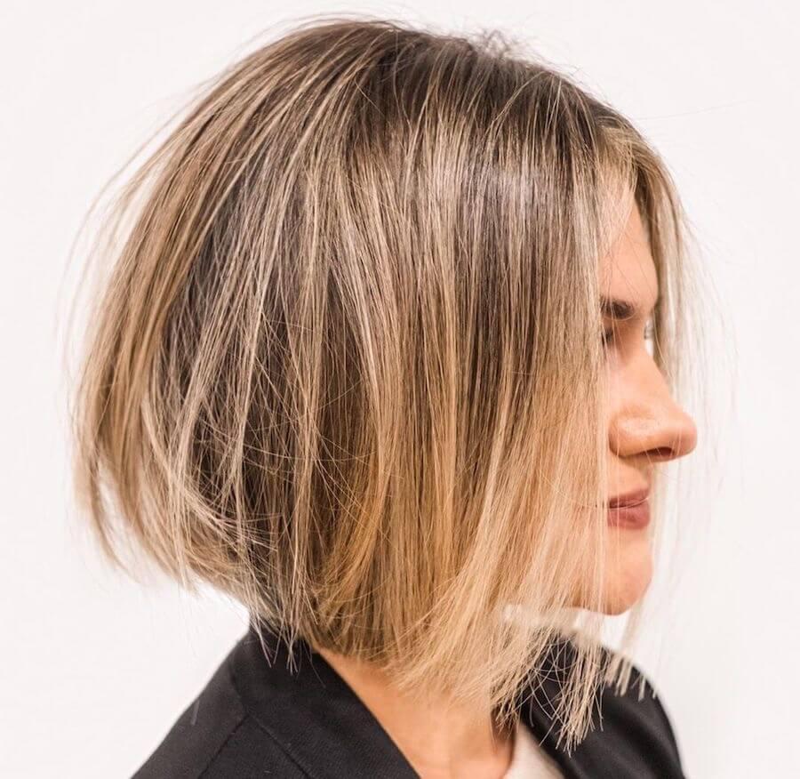 capelli bob degrade scalato 2020