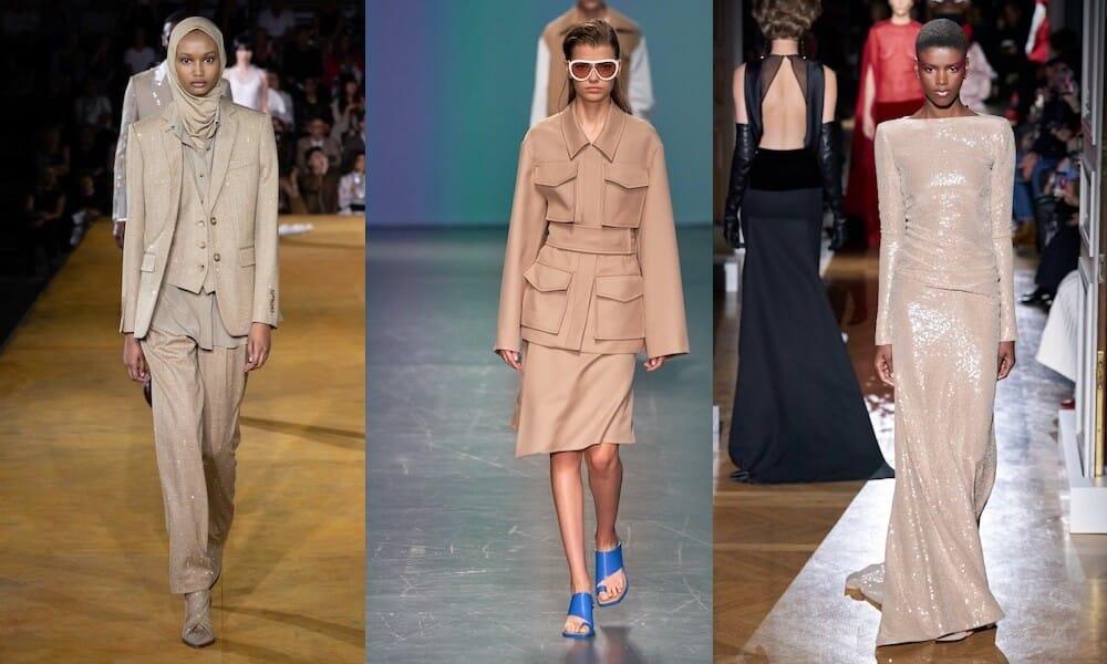 colori moda estate 2020 beige