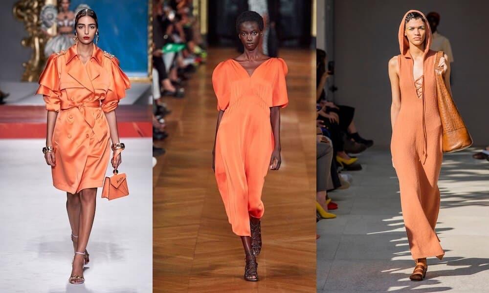 colori moda pe 2020 arancio