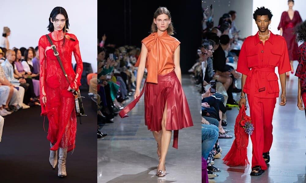 colori moda primavera estate 2020-rosso