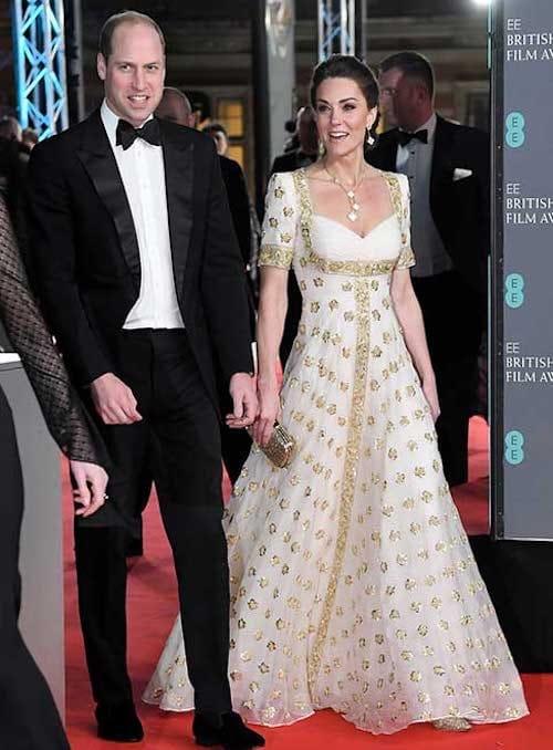 Kate Middleton principe William Bafta
