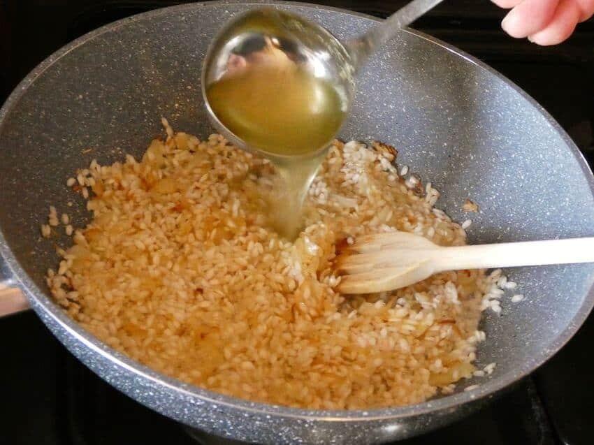 ricetta risotto milanese foto 2
