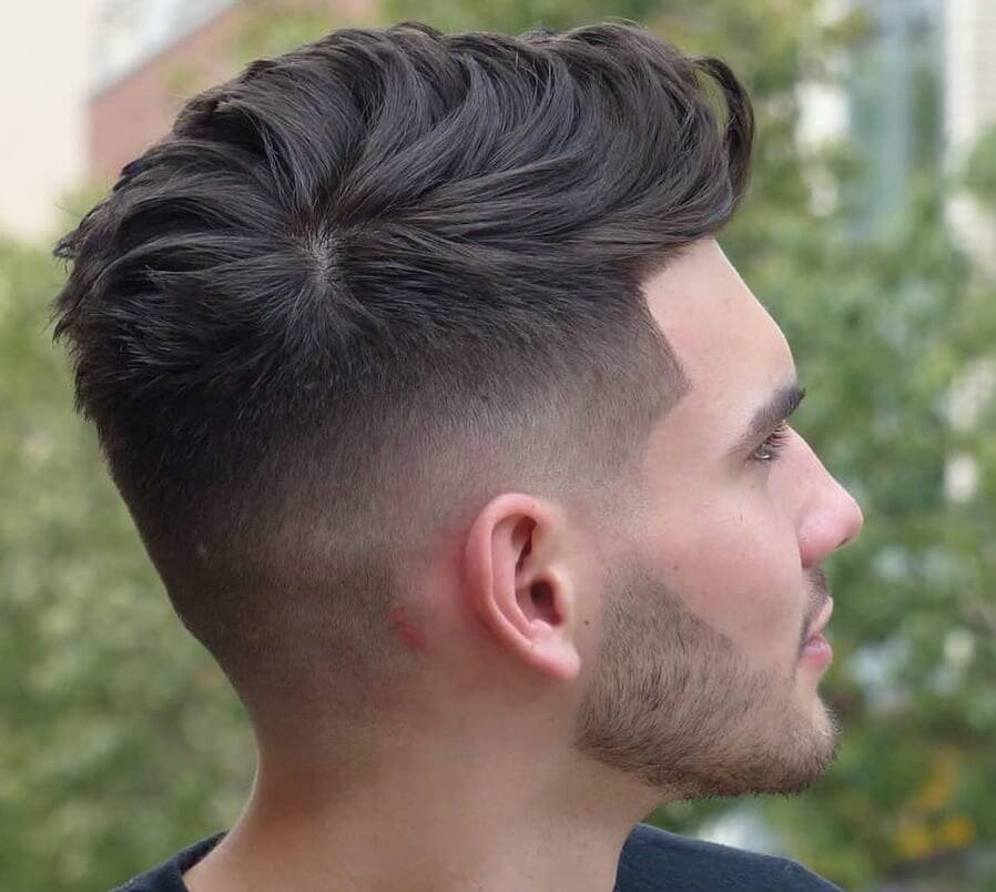 taglio capelli uomo 2020 sfumatura bassa