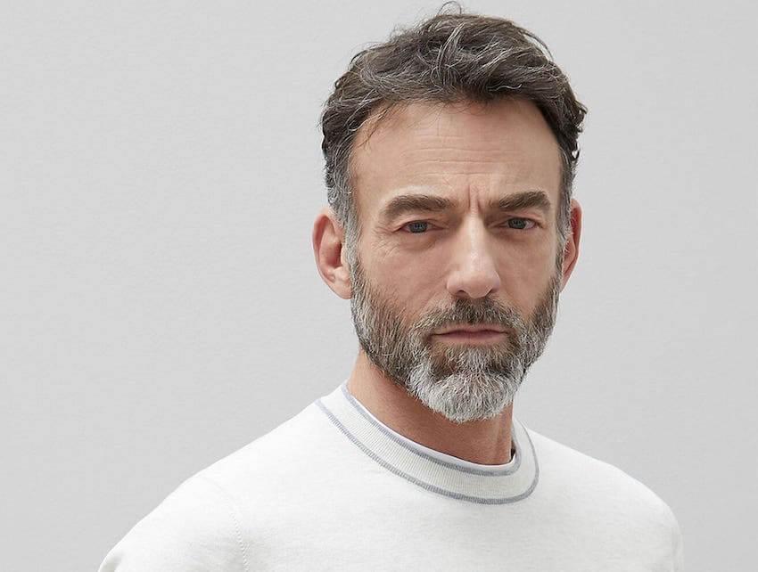 capelli uomo grigi 2020
