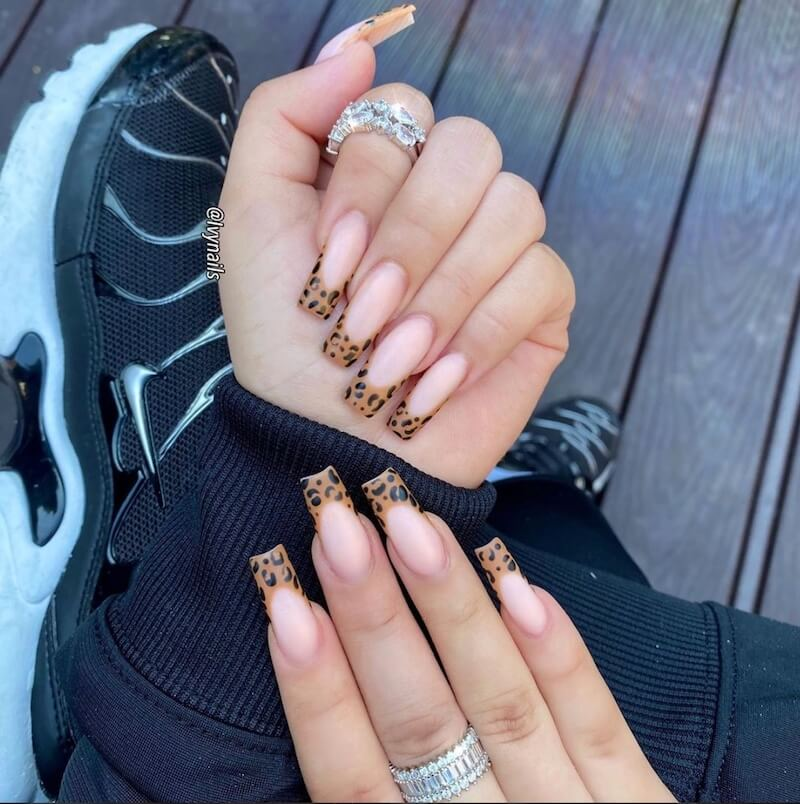 unghie ballerina 2020 french nail art 089