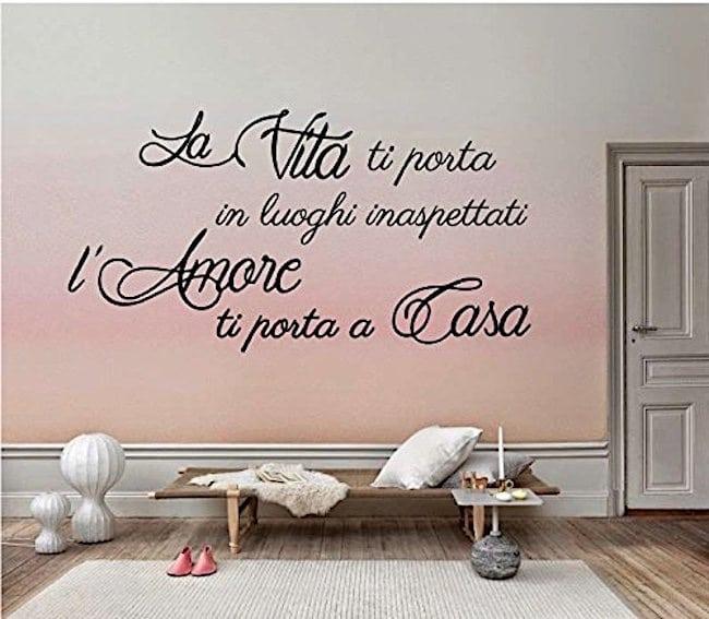 adesivi murali amazon frasi-
