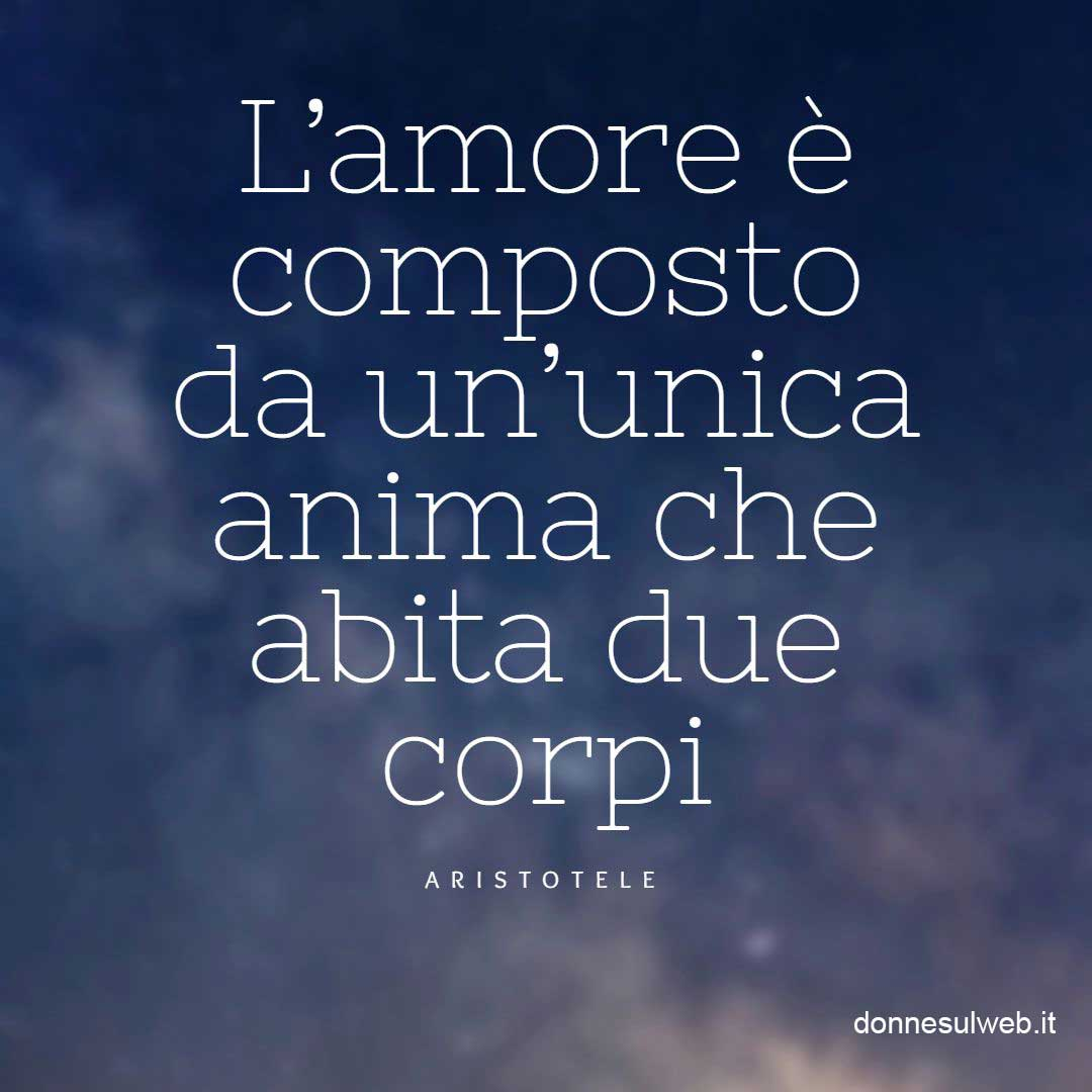 amore frasi due corpi