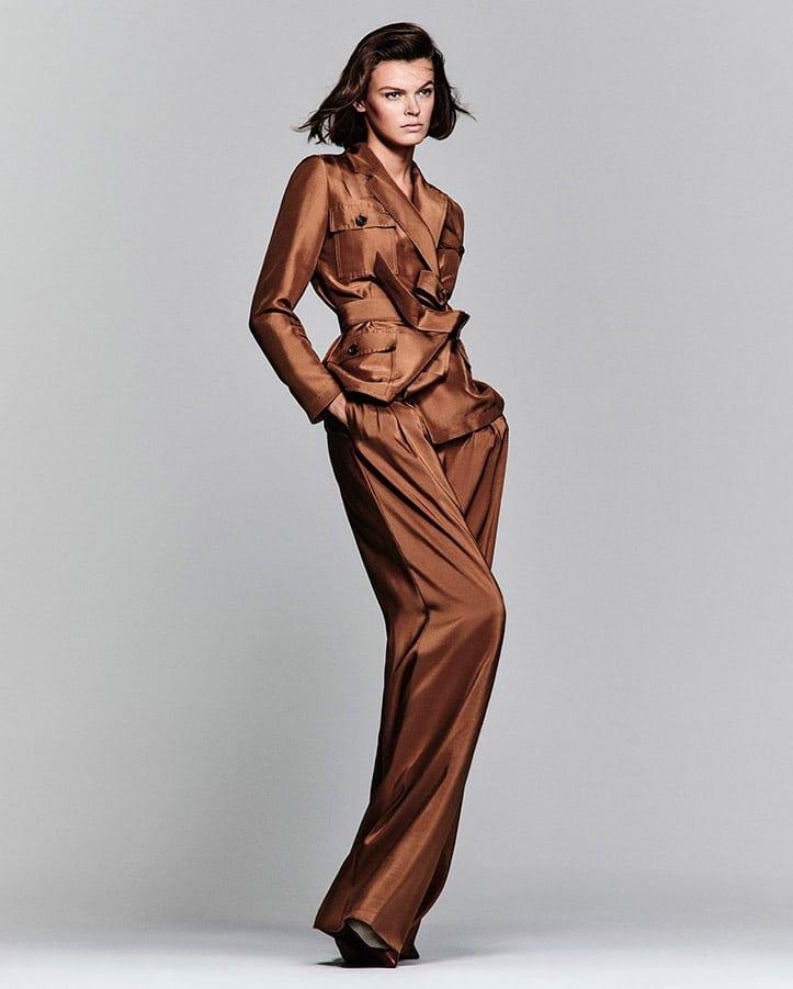 vestire di un solo colore moda 2020