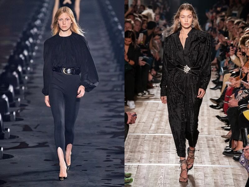 moda estate 2020 outfit neri