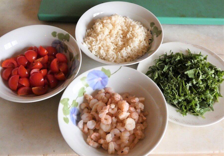 riso freddo ingredienti