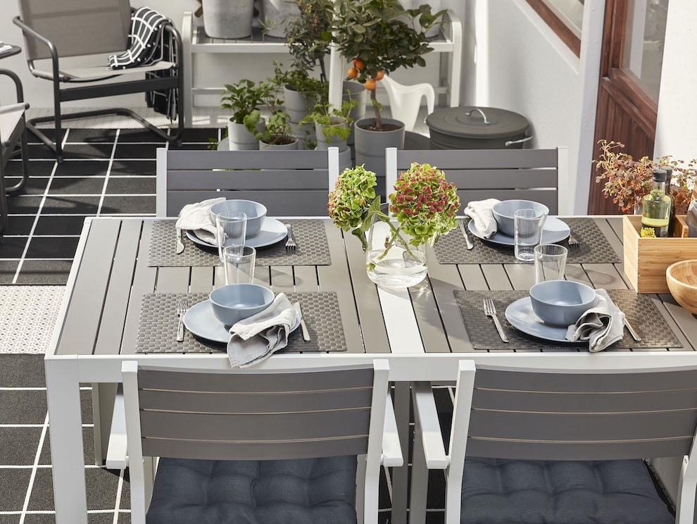 IKEA tavoli giardino o terrazza