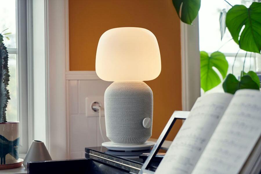 lampada con cassa Wi-Fi integrata