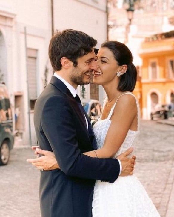 lino guanciale matrimonio