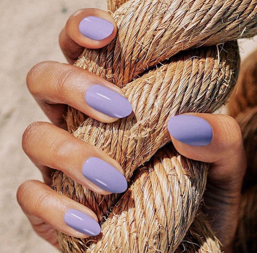 unghie estive semplici