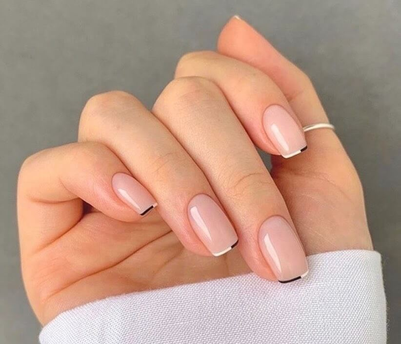 French manicure autunno 2020