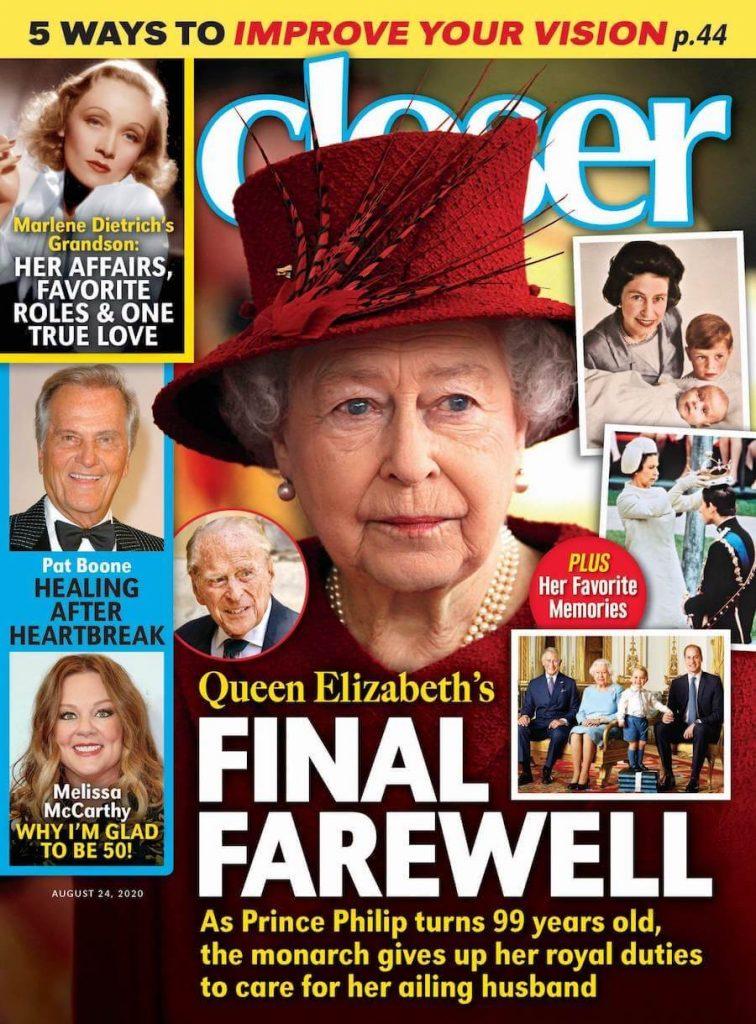 closer copertina regina elisabetta