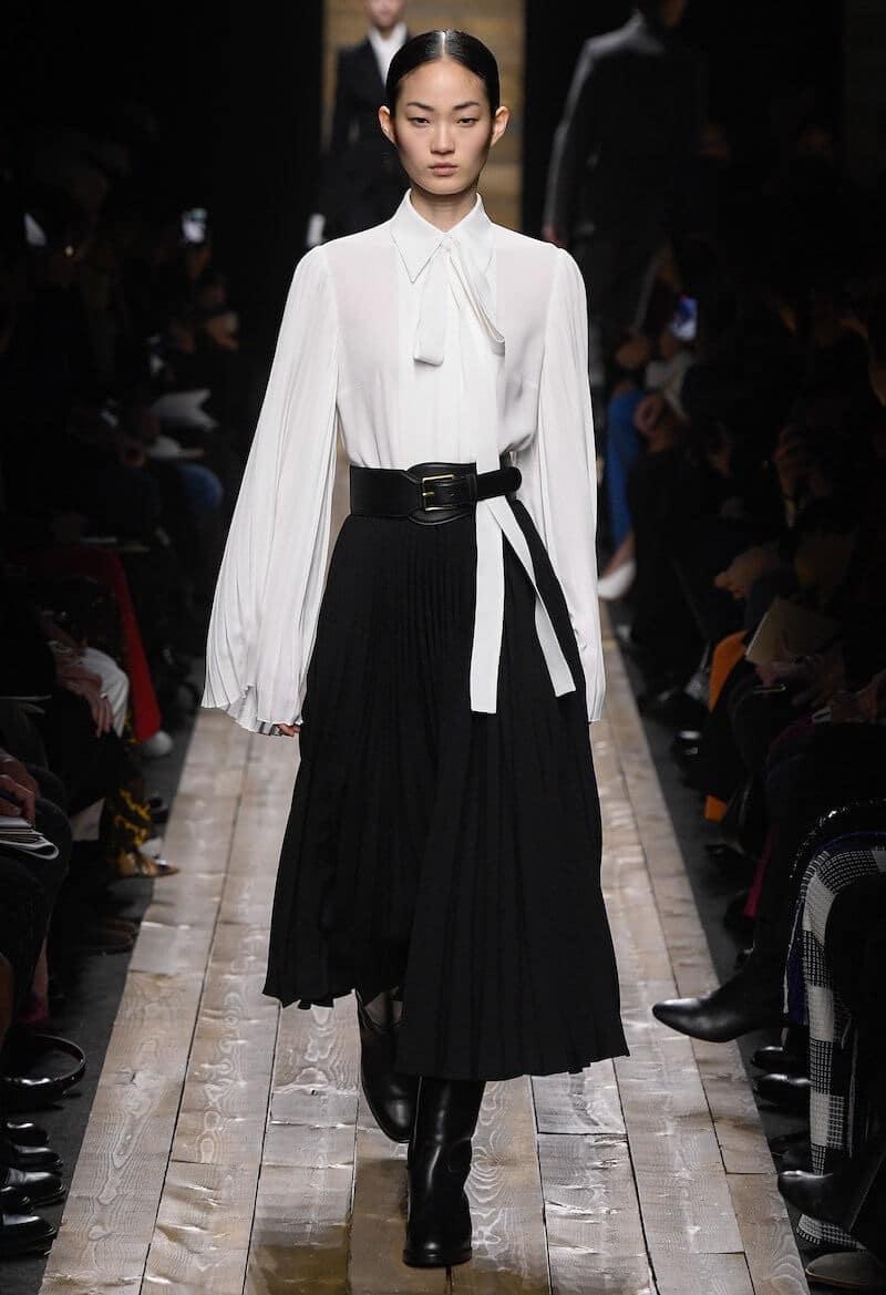 abbinare nero e bianco moda 2020
