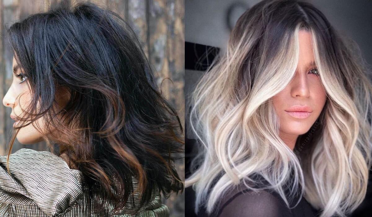 balayage 2021 colore capelli
