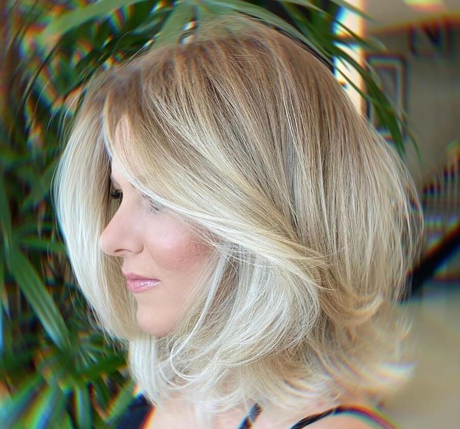 capelli biondi autunno 2020