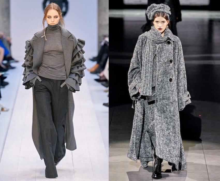 cappotti donna inverno 2020 2021 -grigio