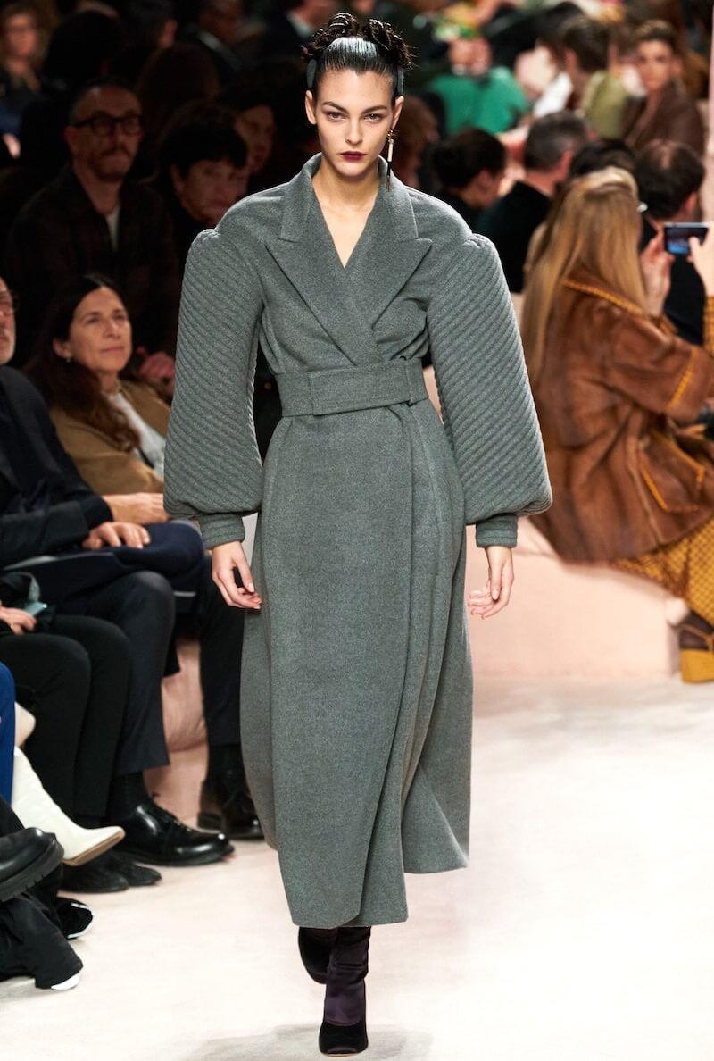 cappotto donna inverno 2020 2021-fendi