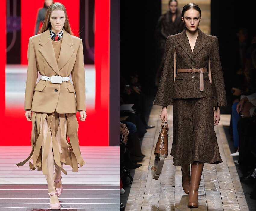 colori moda inverno 2020 2021 beige marrone