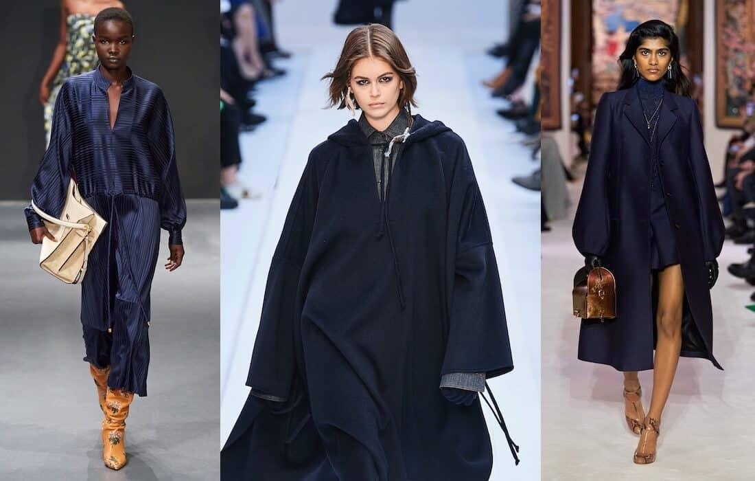 colori moda inverno 2020 2021-blu