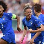 nazionale calcio femminile italia rosa