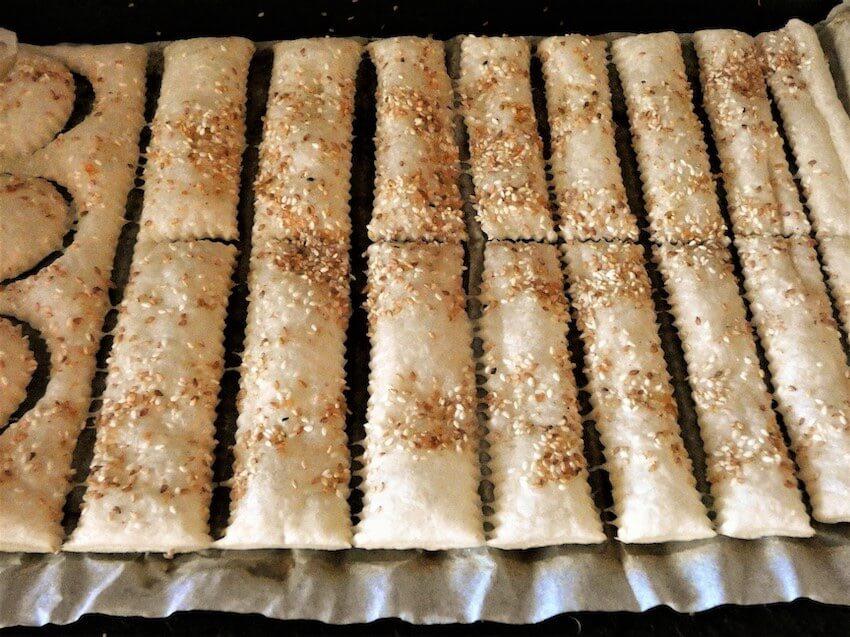 salatini al forno con pasta sfoglia