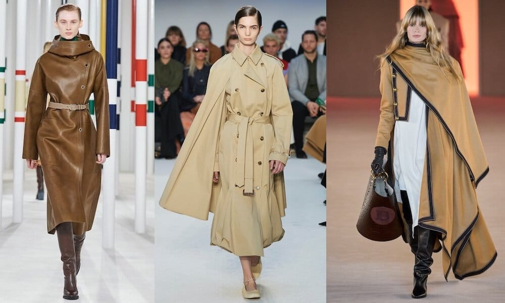 trench mantelle donna inverno 2020 2021