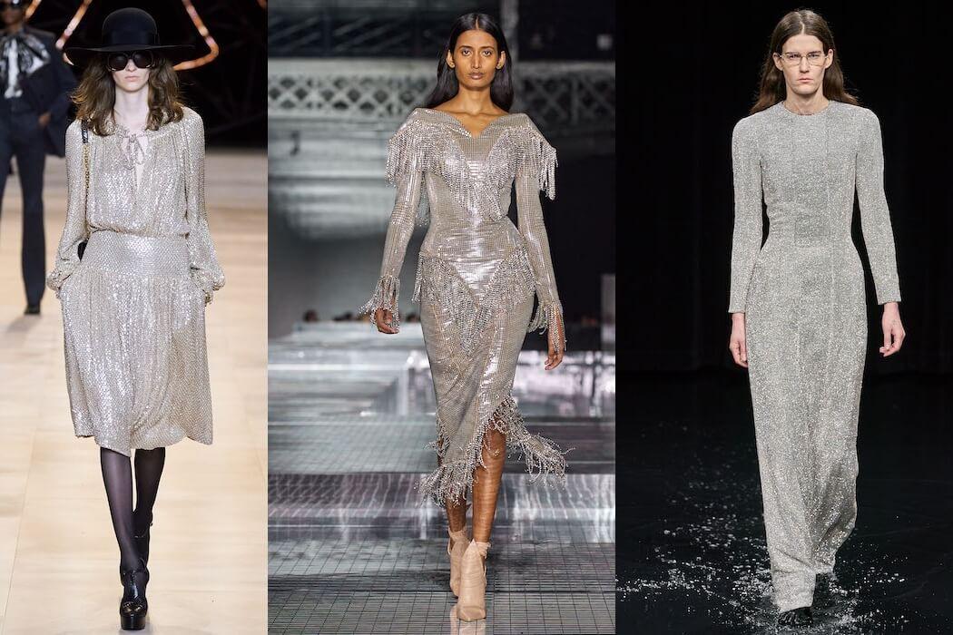 vestiti argento inverno 2020 2021
