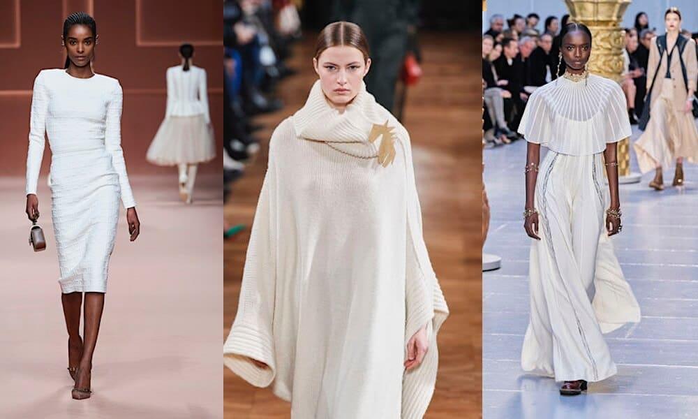 vestiti bianchi inverno 2020 2021