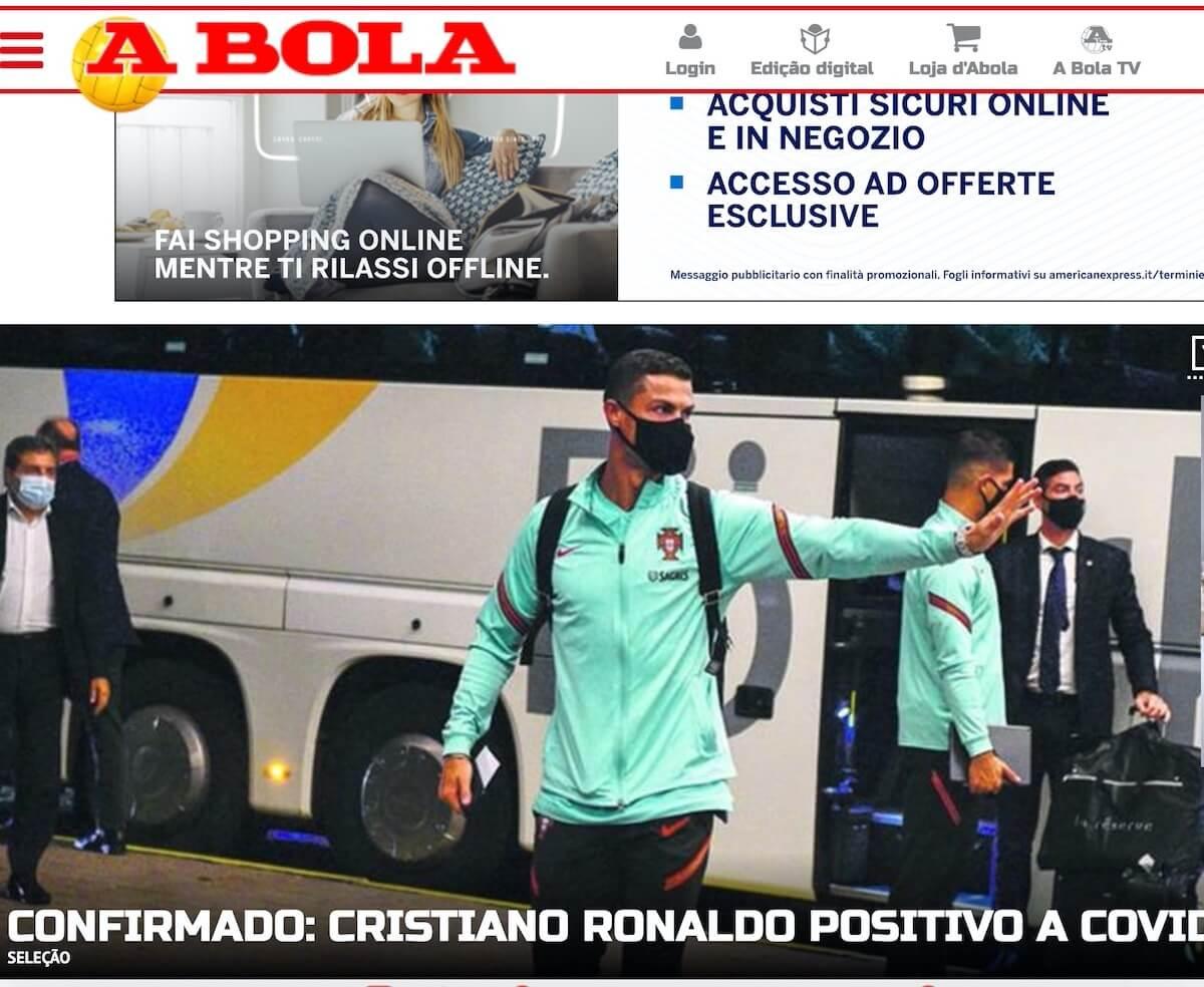 Ronaldo positivo