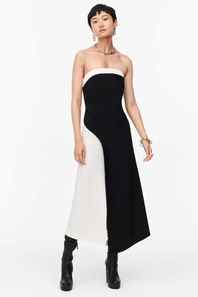 vestito elegante zara inverno 2020 2021