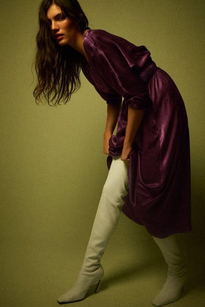 vestito zara inverno 2020 21 saldo