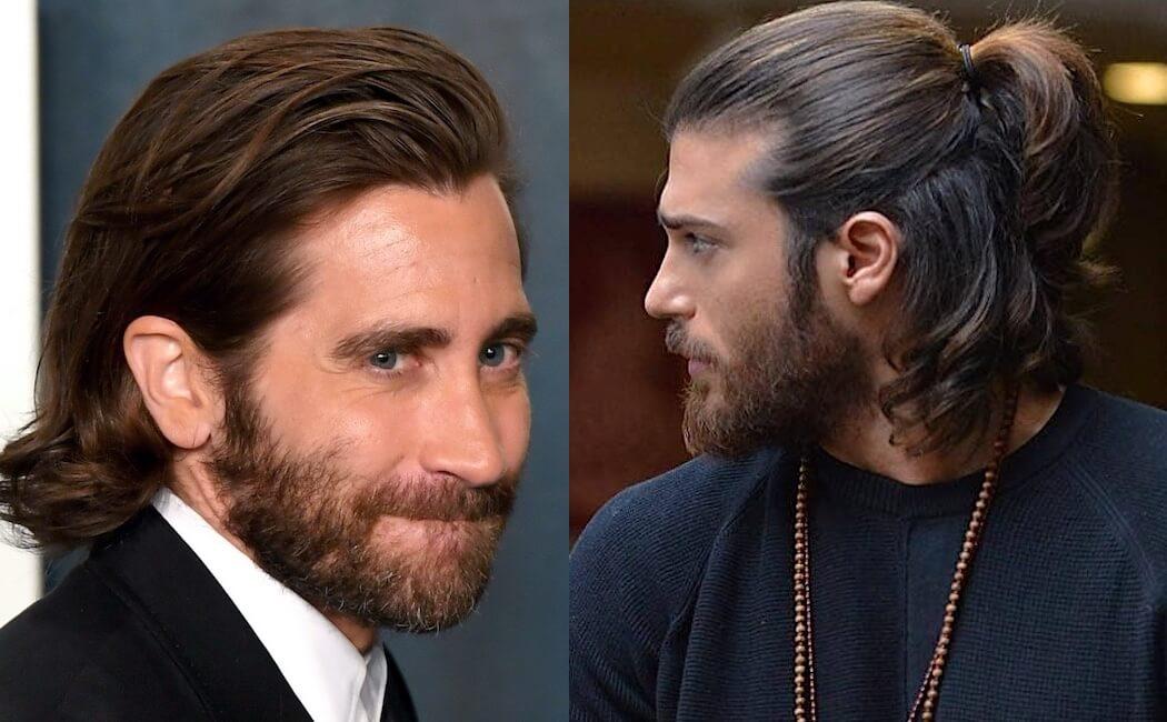 capelli lunghi uomo 2021