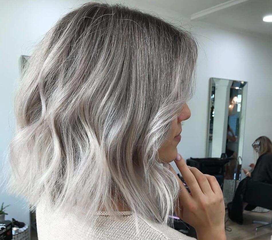 capelli long bob 2021 taglio colore