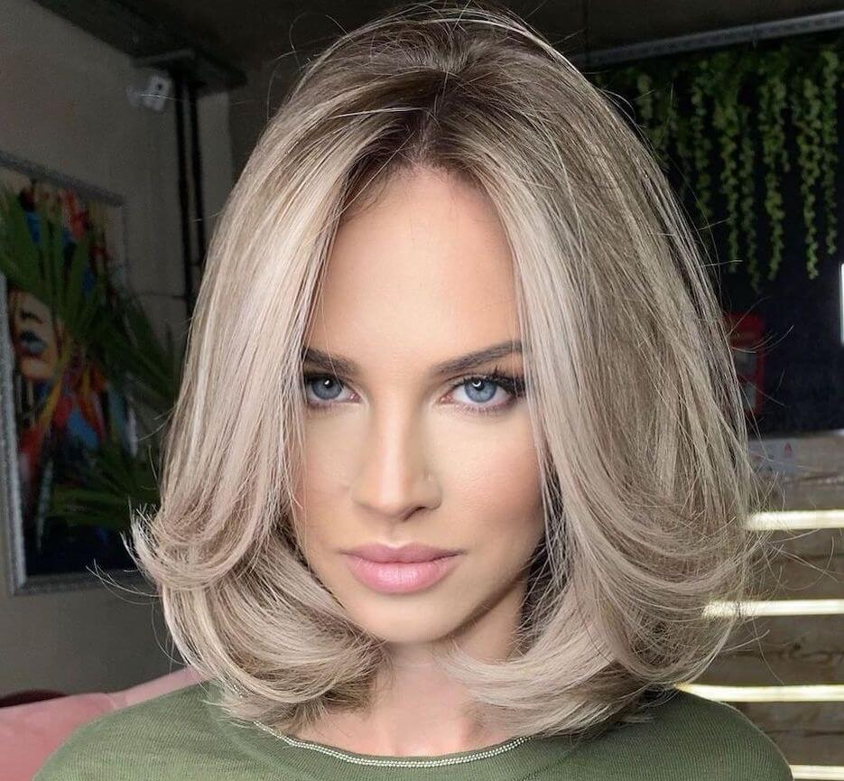 capelli tagli medi 2021- long bob