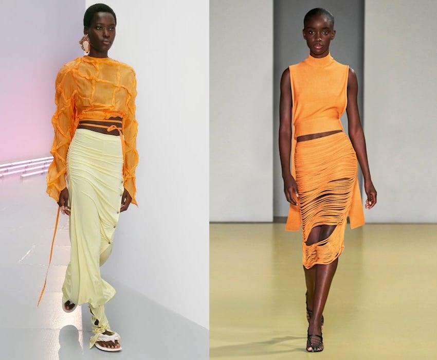 colori moda primavera estate 2021 arancione