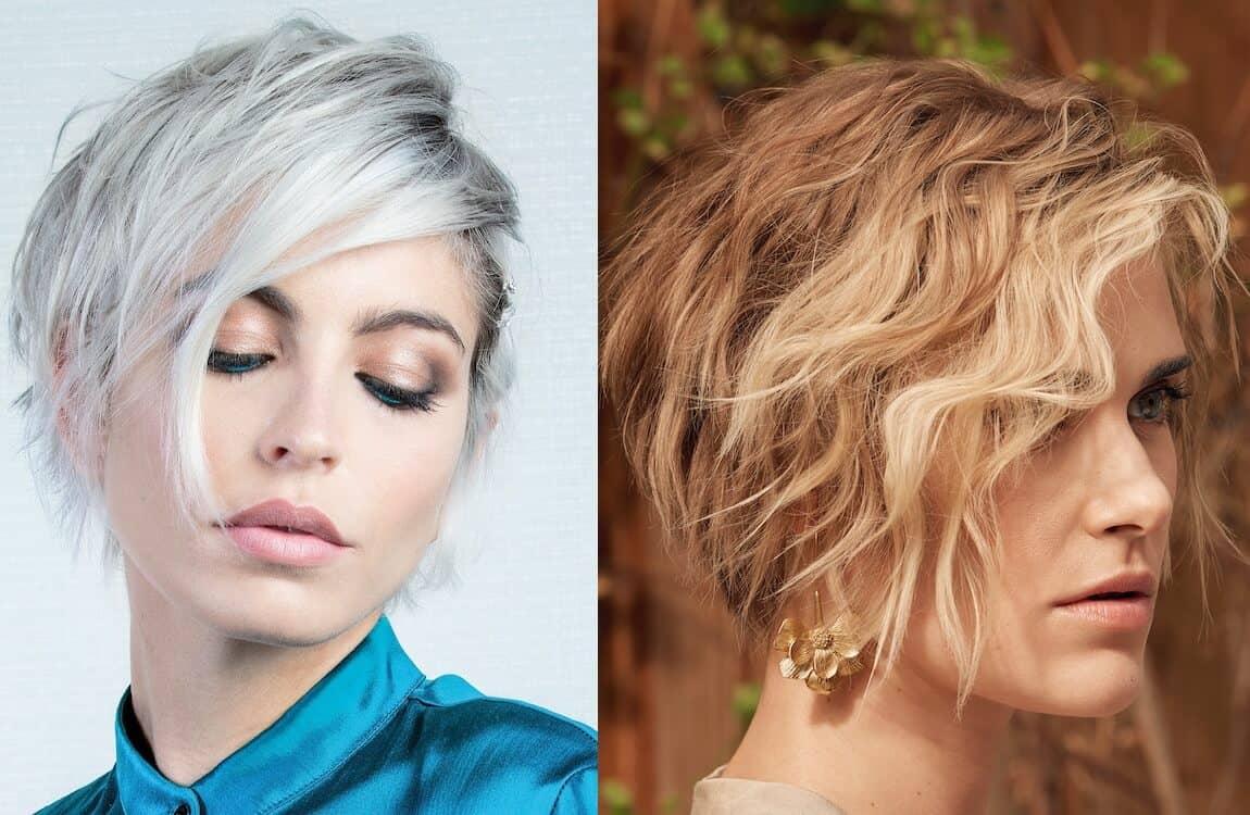 tagli capelli corti biondi 2021