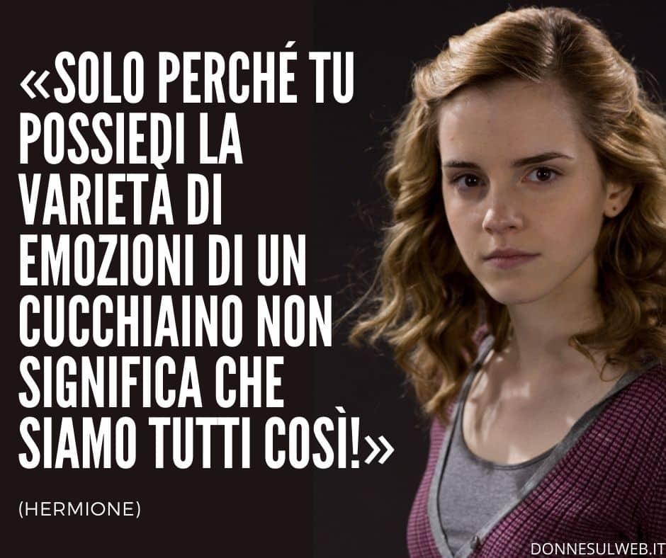 FRASI harry potter hermione