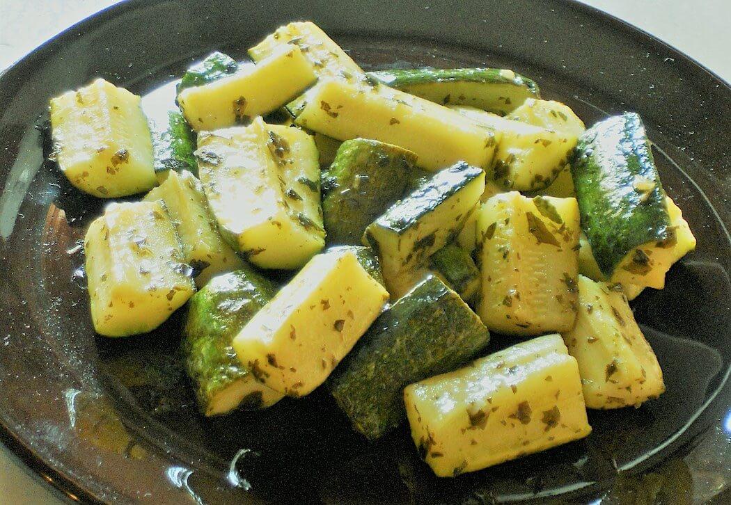 zucchine in padella al vino sfiziose veloci