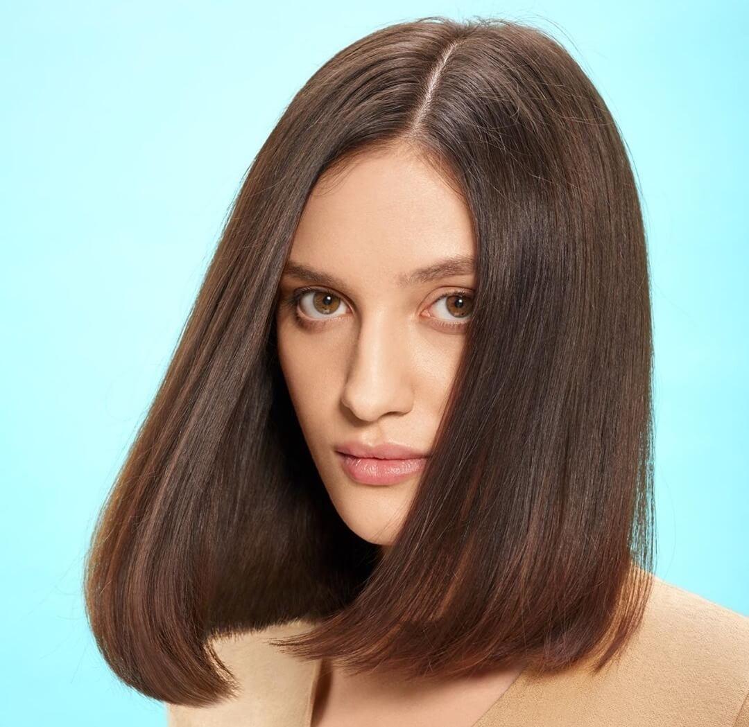 capelli castani 2021 long bob