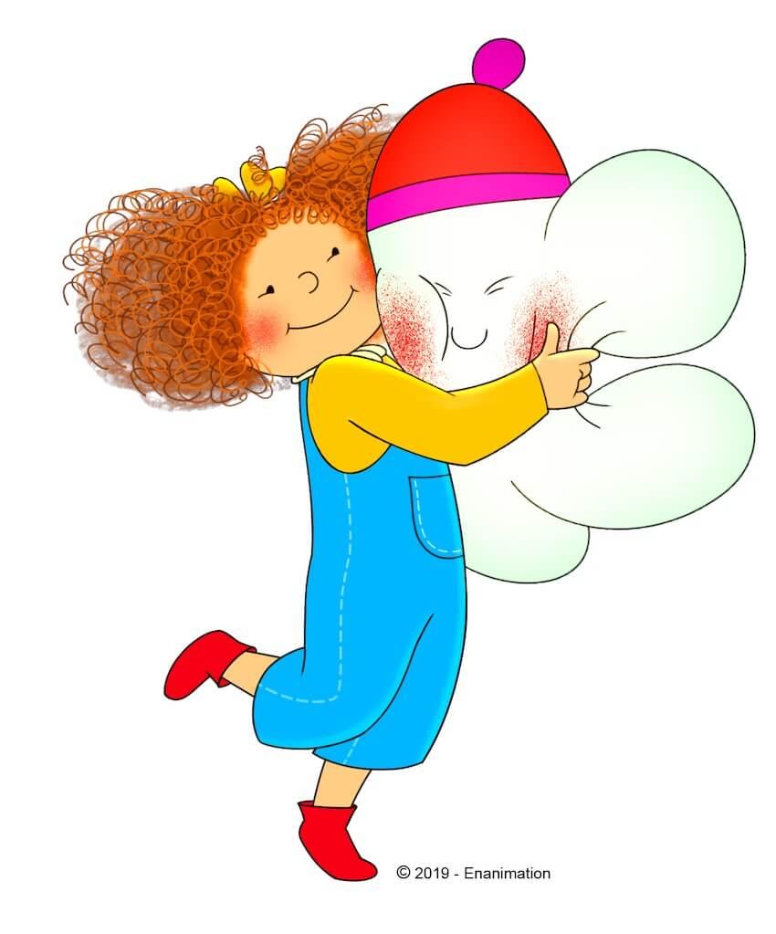 Nina e Olga Rai Yoyo cartone animato