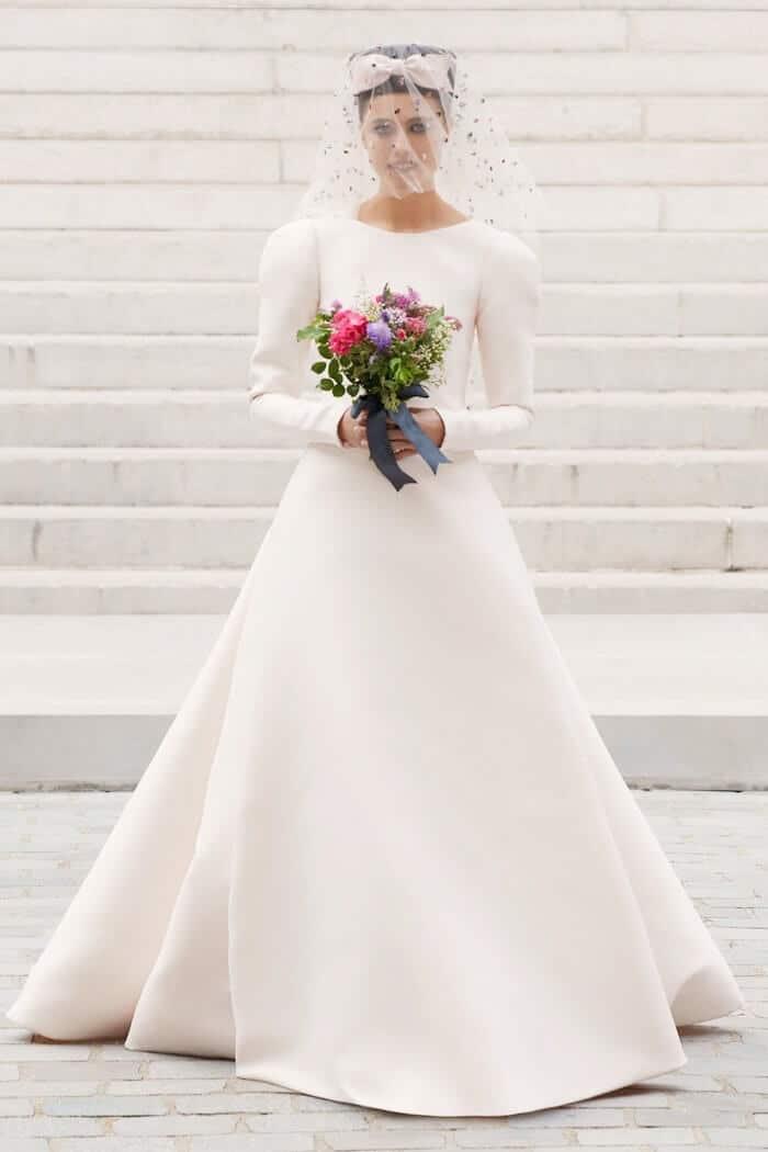 abito da sposa Chanel-Couture- inverno 2021 2022
