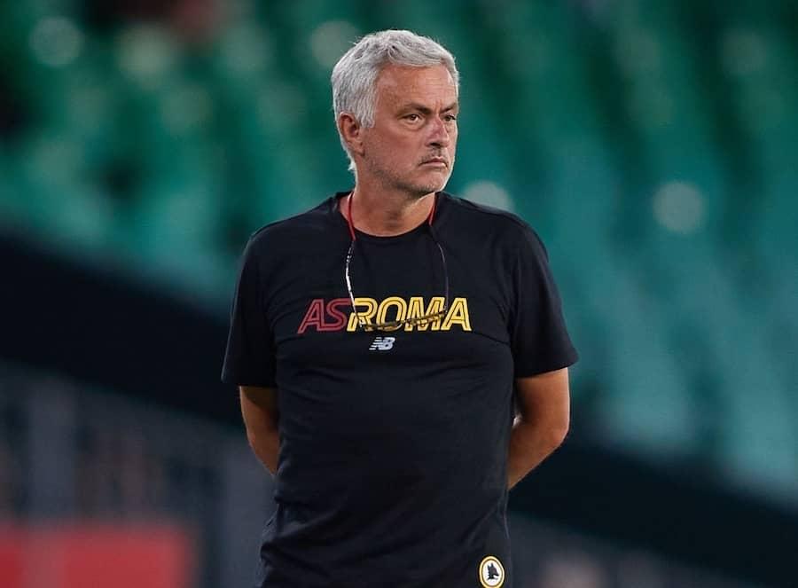 Jose Mourinho roma calcio