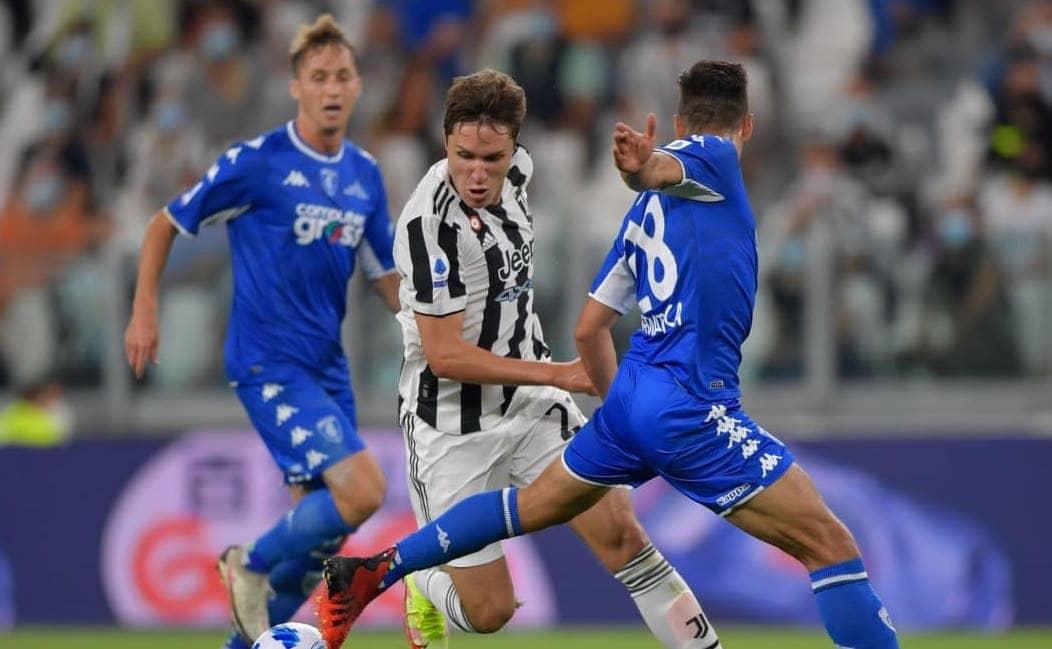 Juve Empoli serie a 2021-22