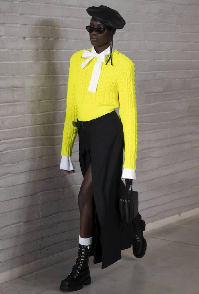 colori moda inverno 2021 2022-giall