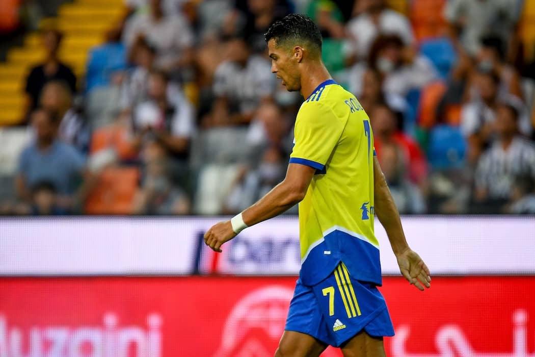 udinese Juve 22 agosto 2021- Ronaldo
